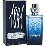 Cerruti 1881pour homme Bella Notte agua de colonia para hombre, en spray, 125ml