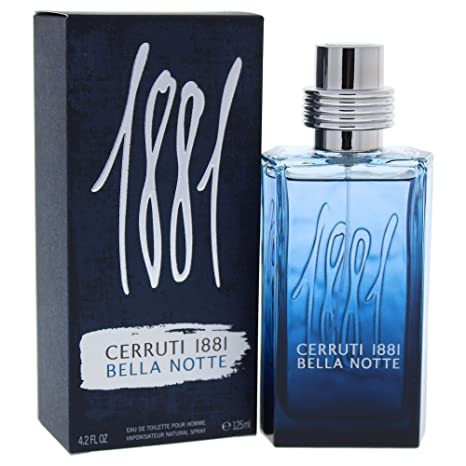 Cerruti 1881 pour homme Bella Notte agua de colonia para hombre, en spray, 125
