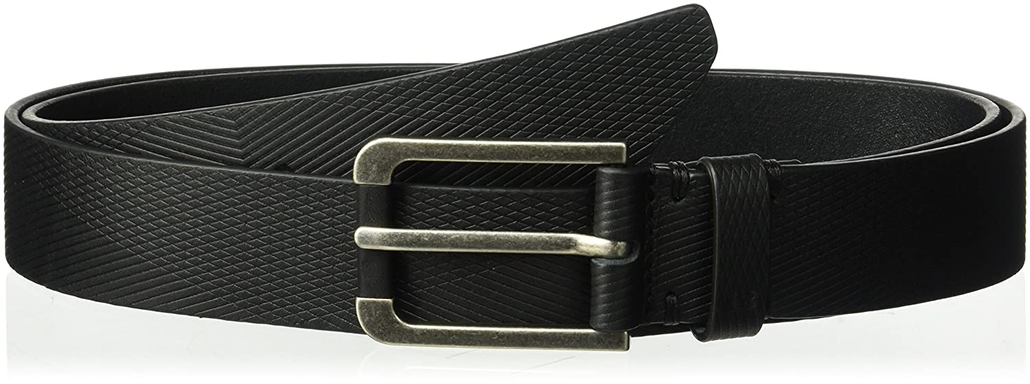 Under Armour Mens Debossed Leather Belt Under Armour Accessories 1306539