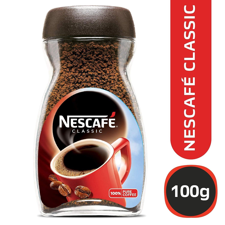 Nescafe Classic Coffee Glass Jar 100g Grocery Old Town White 3 In 1 Kopi Klasik Gourmet Foods