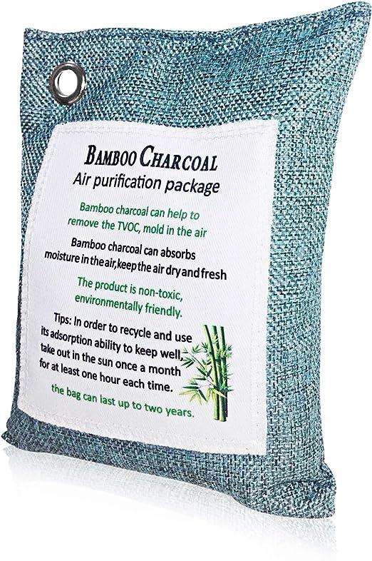 Kimood Bolsa Antihumedad de Carbón Activo De Bambú ...