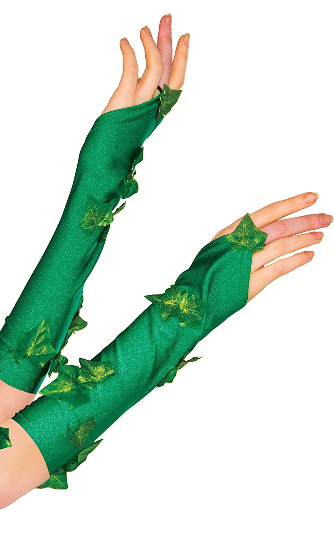 Rubies Costume Women's DC Comics Poison Ivy Glovelette Green One Size 38033