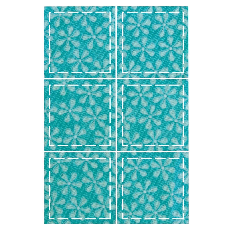 AccuQuilt Go Fabric Cutting Dies, 2-Inch, Square 550-22
