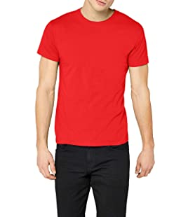 Fruit of the Loom SS022M, Camiseta para Hombre, Rosso XX-Large