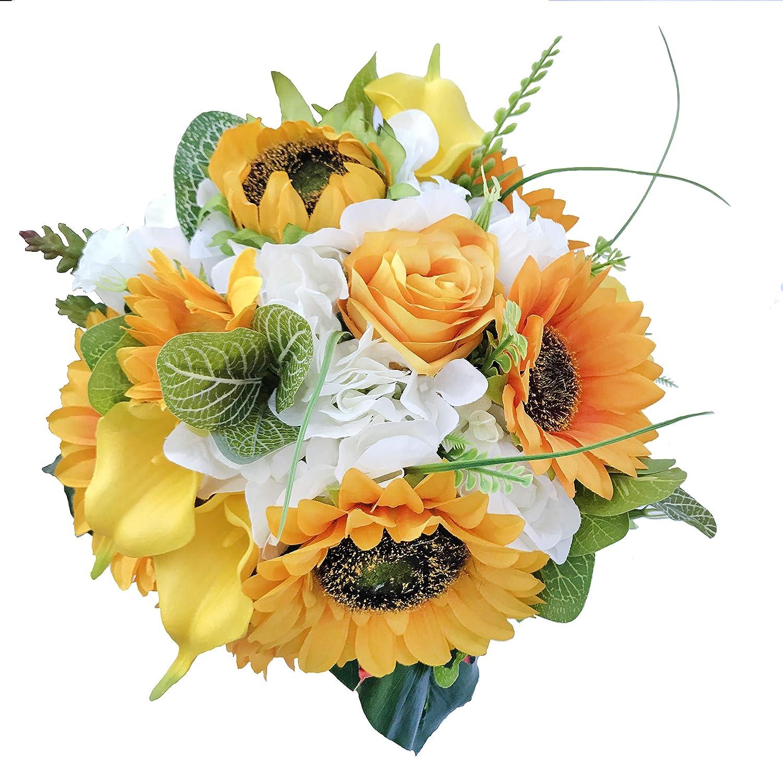 Faux Silk Sunflower Assortment Bouquet