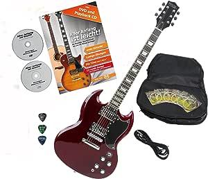 Rocktile Pro S de R S de guitarra Heritage Cherry con accesorios ...