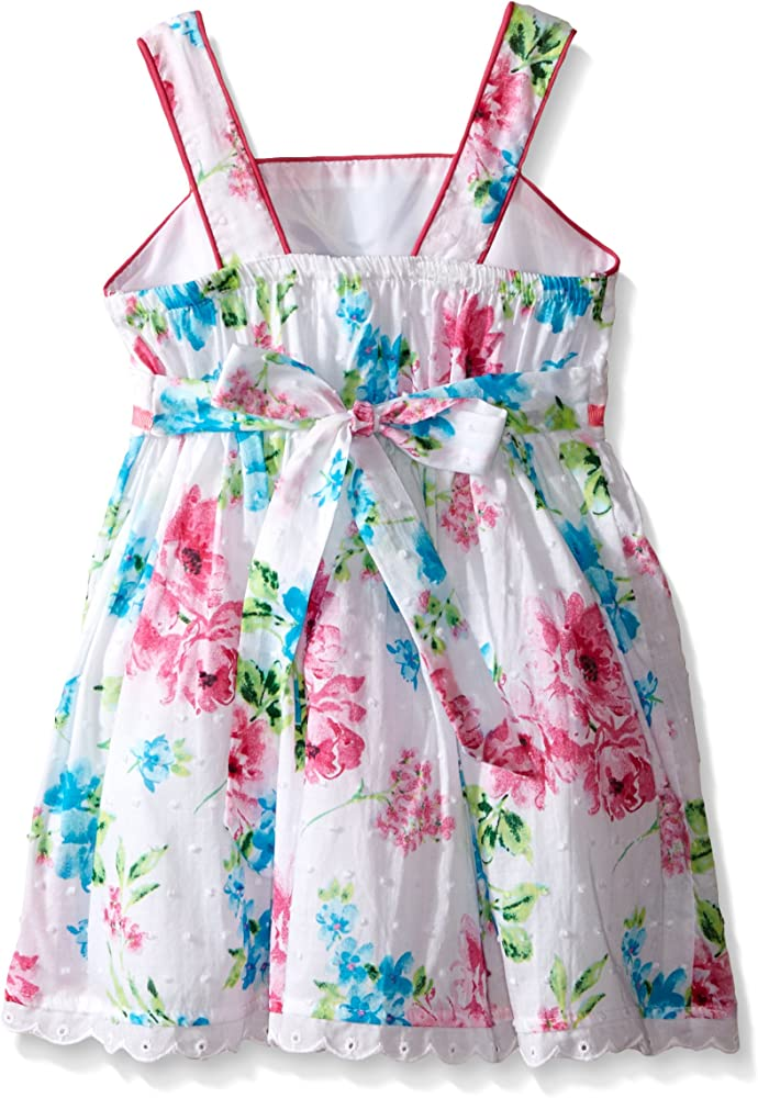Youngland Baby Girls MultiColor Floral Twirl Dressy Dress Sleeveless Brand New