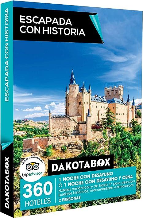 DAKOTABOX - Caja Regalo - ESCAPADA CON HISTORIA - 360 hoteles ...