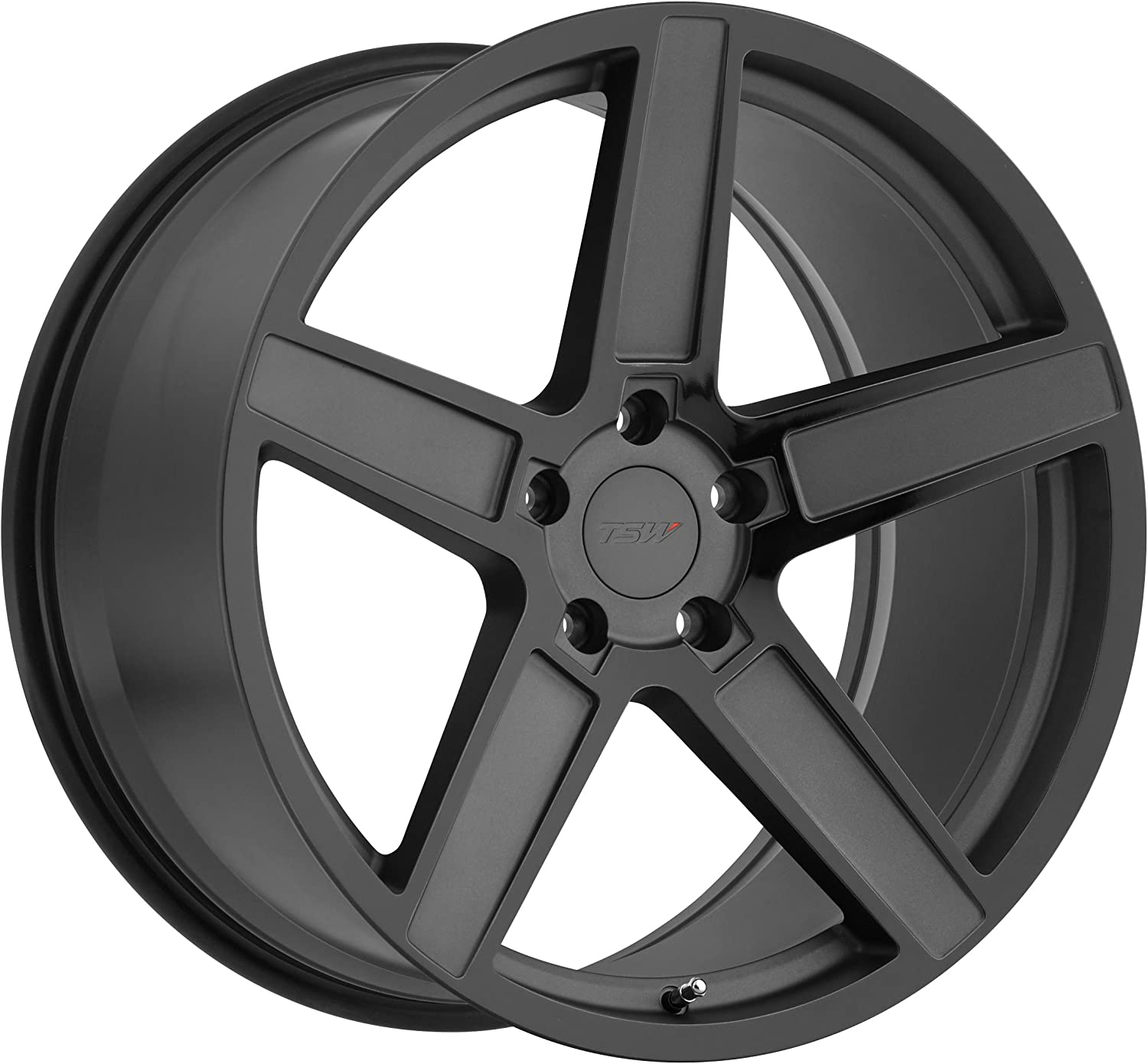 TSW ASCENT Grey Wheel with Painted Finish 18 x 9.5 inches //5 x 114 mm, 40 mm Offset