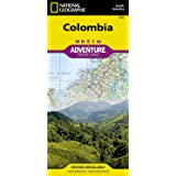 Colombia (National Geographic Adventure Map, 3405)