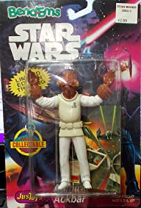 Admiral Ackbar Action Bendable Figure - Star Wars Bend'ems