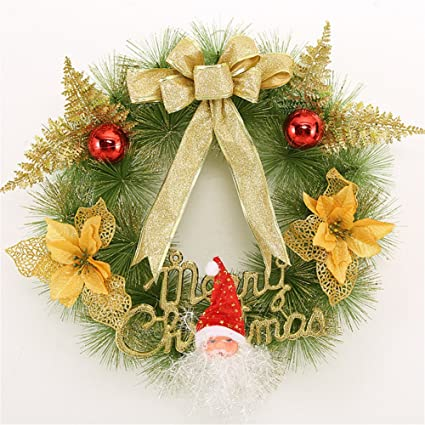 lilac beauty christmas large wreath door wall ornament garland decoration black friday deals gold