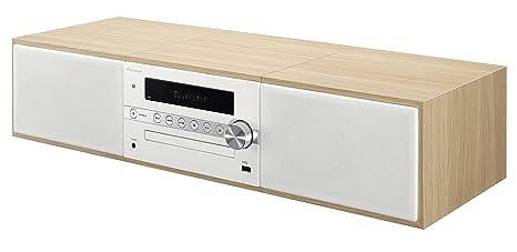 bfc3acd8a2050 Pioneer X-CM56-W - Microcadena Hi-fi con Bluetooth