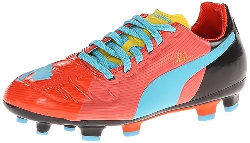 38ab01f8657 PUMA Evopower 3 GFC Firm Ground JR Soccer Shoe