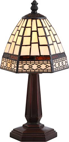 JONATHAN Y JYL8016A Carter Style 12 LED Lamp Tiffany,Traditional for Bedroom, Living Room, Office, College Dorm, Coffee Table, Bookcase, Bronze