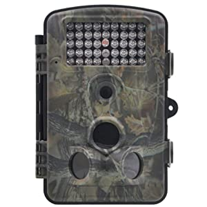 ZenNutt HD Mini Trail & Game Camera,12 MP 1080P Waterproof Low Glow Infrared Night Vision Motion Activated Outdoor Wildlife Cameras with 2.4