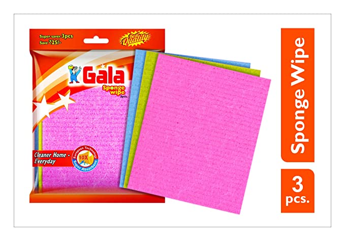 Gala 148994 Sponge Wipe (Pack of 3)