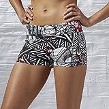 Reebok Damen Graffiti Collab Hot Shorts Oberbekleidung