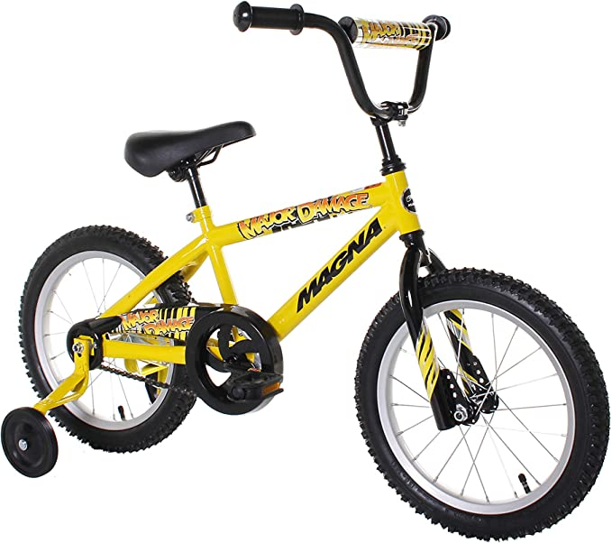 Best BMX Bikes: Dynacraft Magna Major Damage Boys BMX Street/Dirt Bike