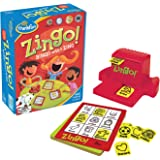 Think Fun Zingo Bingo Award Winning Game for Pre-Readers and Early Readers Age 4 and Up