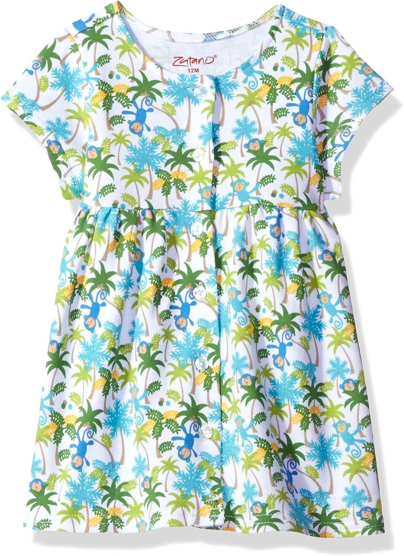 Zutano Baby Girl Organic Cotton Summer Dress