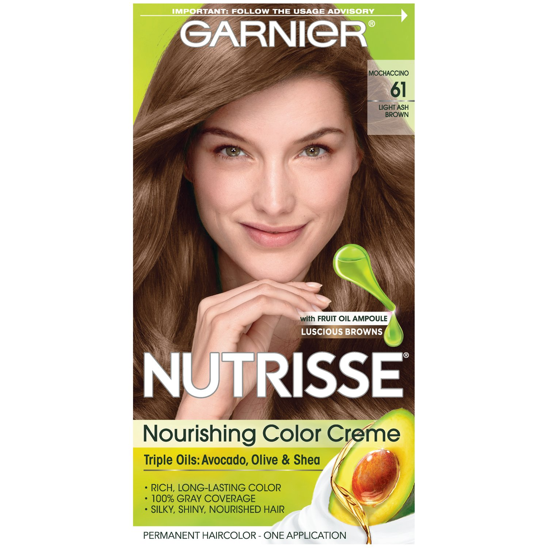 Amazon.com : Garnier Nutrisse Nourishing Hair Color Creme, 70 Dark Natural Blonde Almond Creme