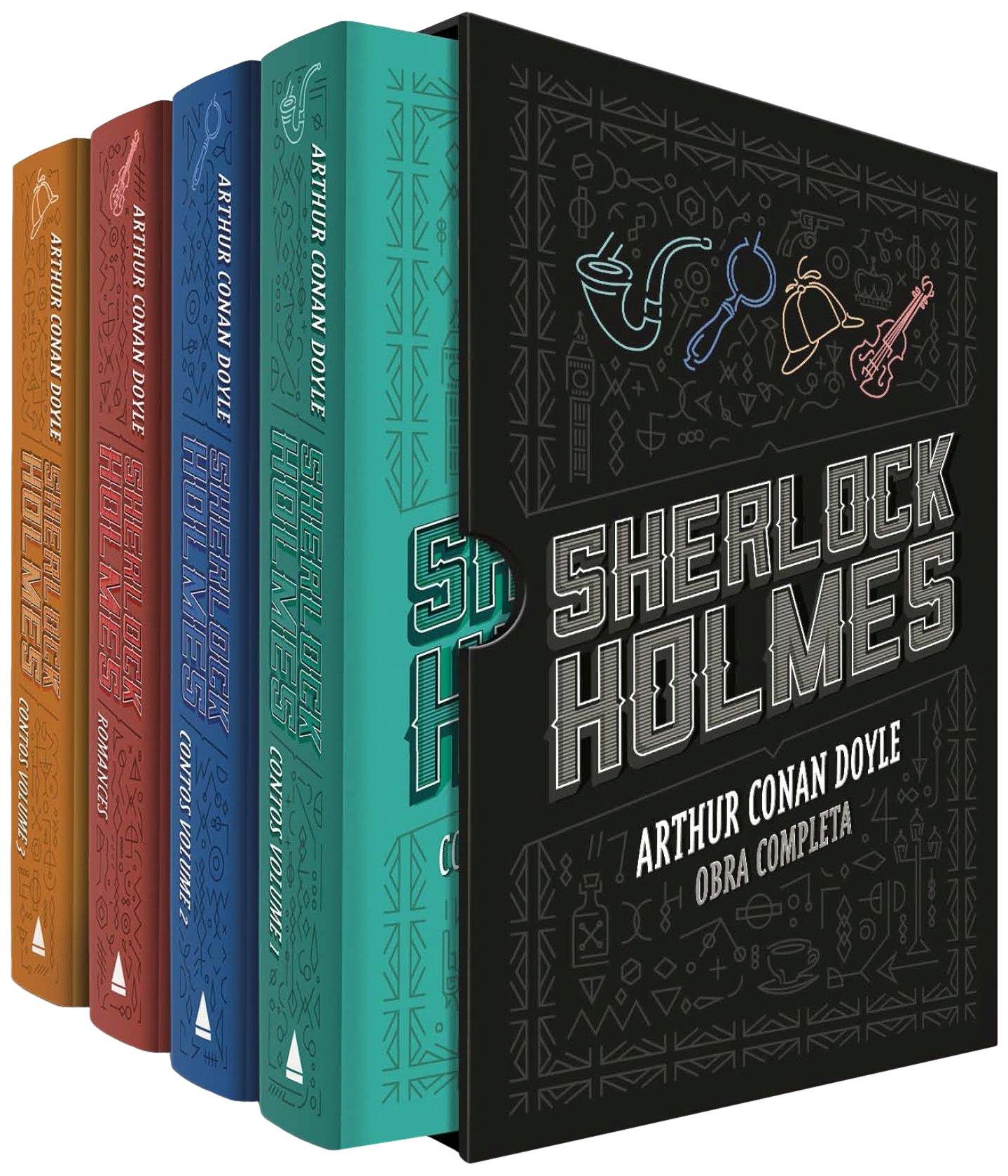 Sherlock Holmes - Caixa | Amazon.com.br