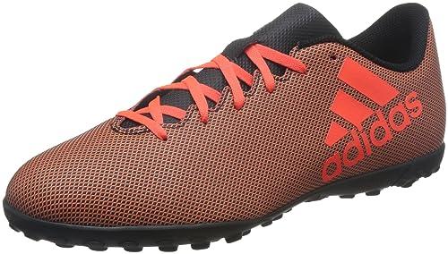 Adidas X 17.4 TF, Zapatillas de Fútbol para Hombre, Multicolor (FTWR White/Energy Blue/Clear Grey), 39 1/3 EU adidas