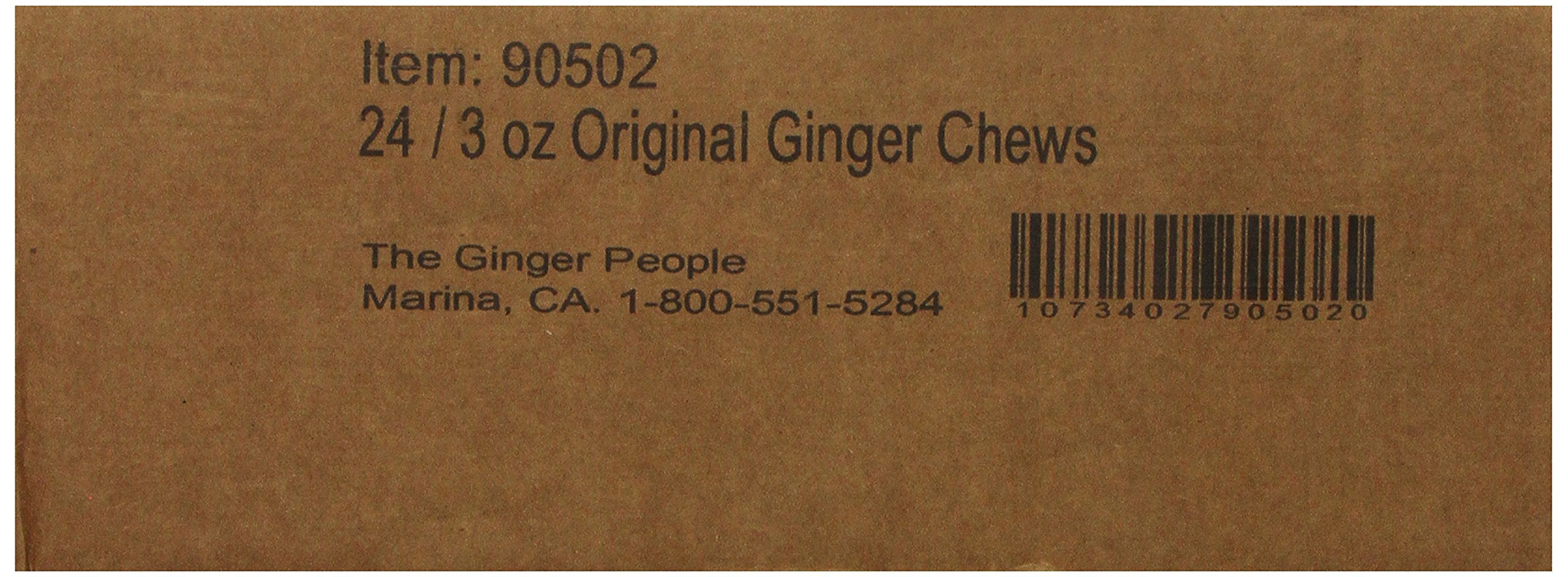 The Ginger People Original Ginger Chews, 3-Ounce Bags (Pack of 24) by The Ginger People (Image #6)
