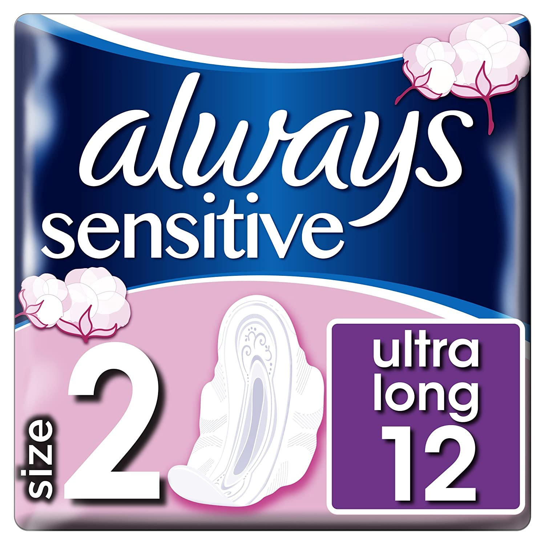 Always sensitive night pads 10 single pack Procter & Gamble 108258513