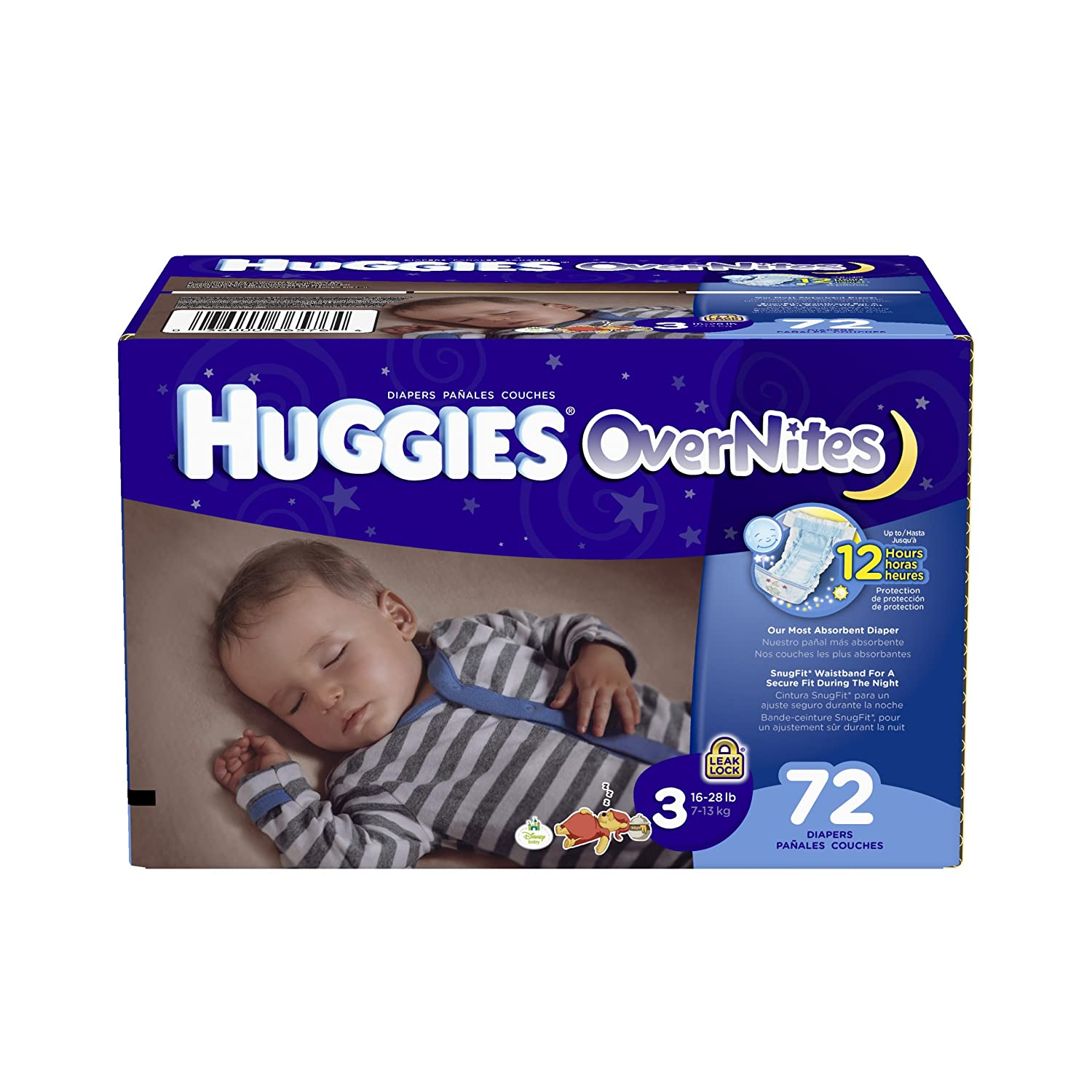Women wearing wedding diapers - Amazon Com Huggies Overnites Diapers Size 3 Big Pack 72 Count Health Personal Care
