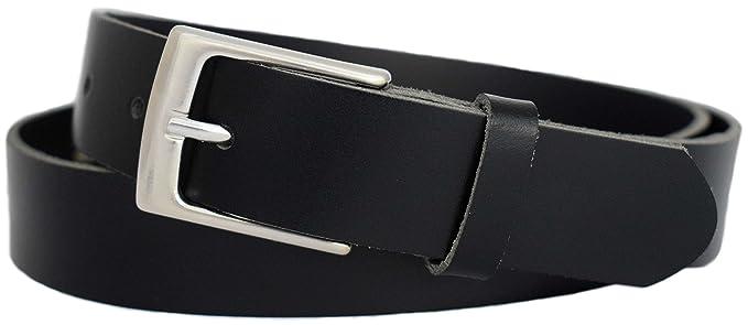 GREEN YARD Cinturón negro de traje hecho de piel 100 ...