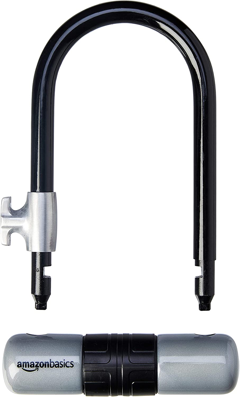 Basics Cadenas antivol pour v/élo avec c/âble flexible de 1,21/m