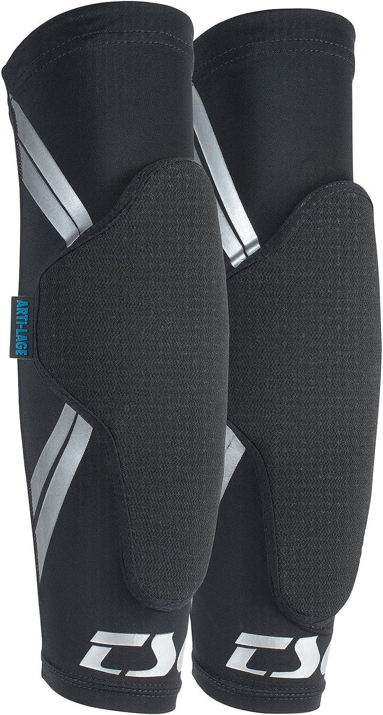 TSG elbow-sleeve DermisのAパッド自転車 ブラック L-XL
