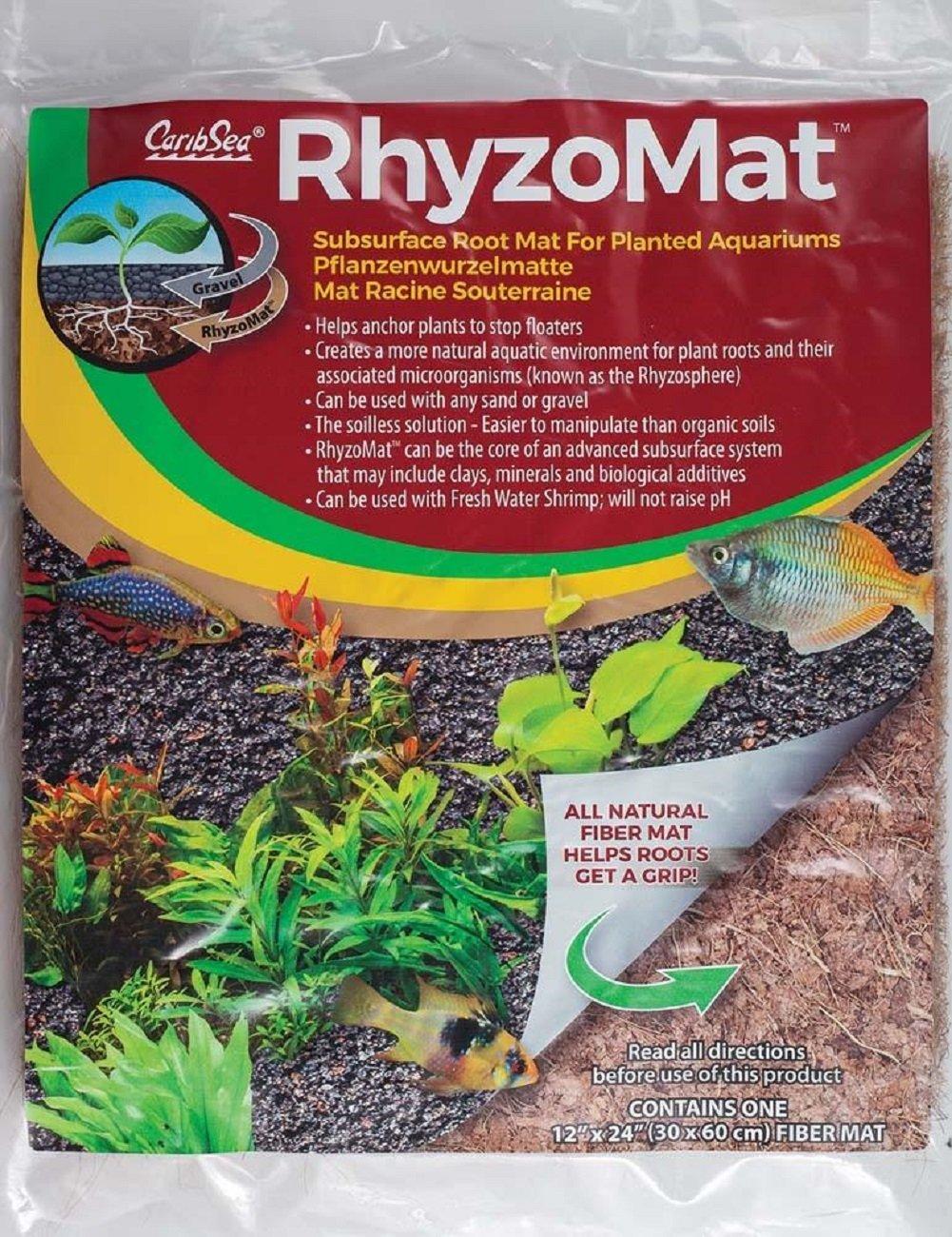 CaribSea Aquatics Rhyzomat Subsurface Root Mat, 12'' x 12''
