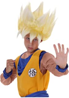 Child Dragon Ball Z Anime Super Saiyan Goku Wig
