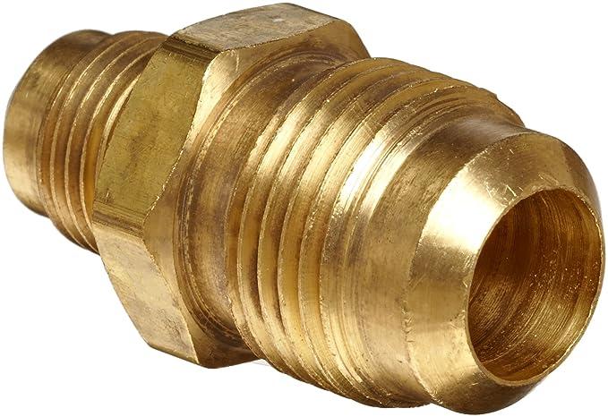 """5 x Nuevo Latón 5//8/"""" OD x 1//2/"""" Od FLARE la reducción de la Unión Latón FLARE adaptador del tubo"""