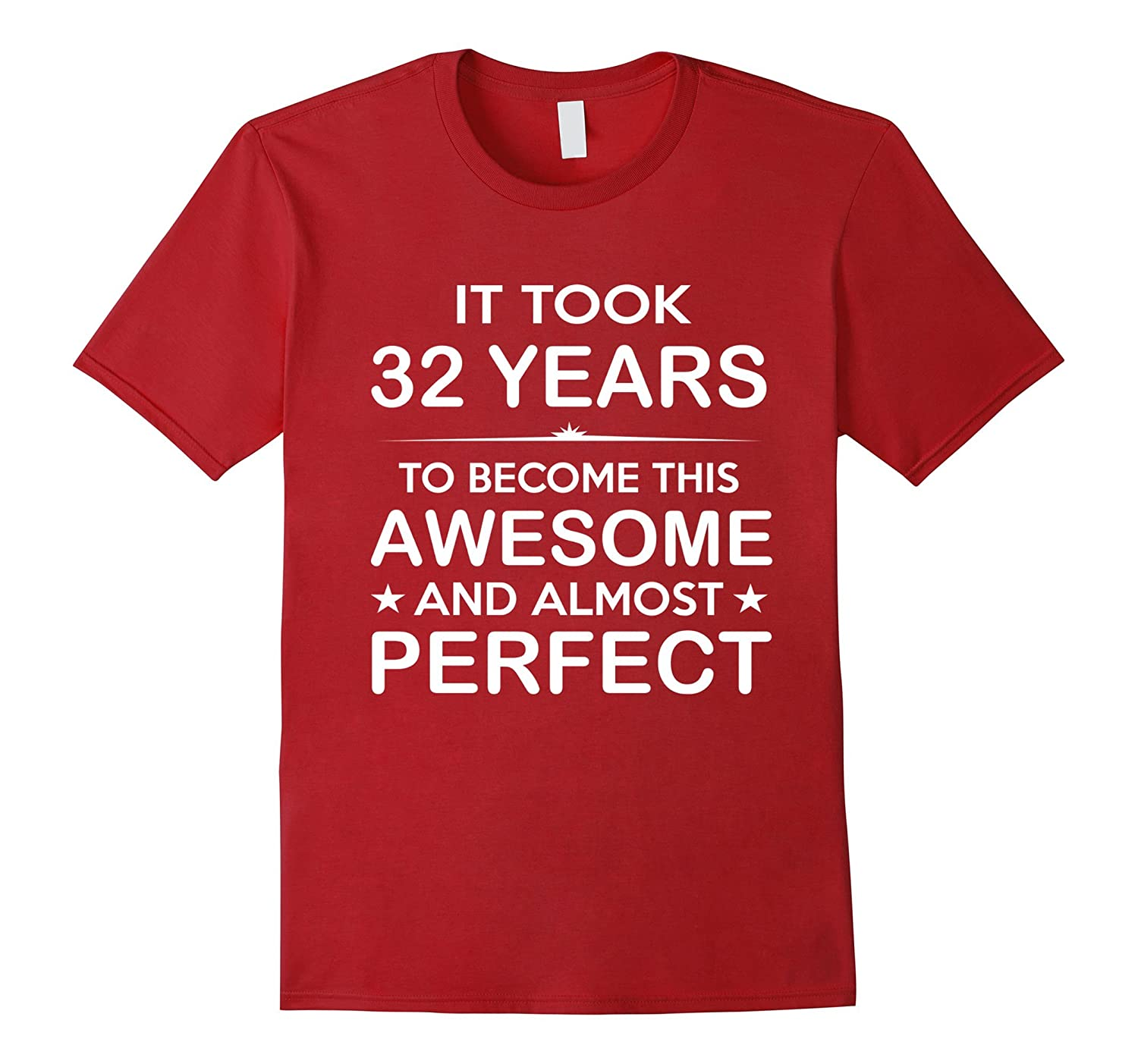 Thirty Two 32 Year Old 32nd Birthday Gift Ideas Her Him TH