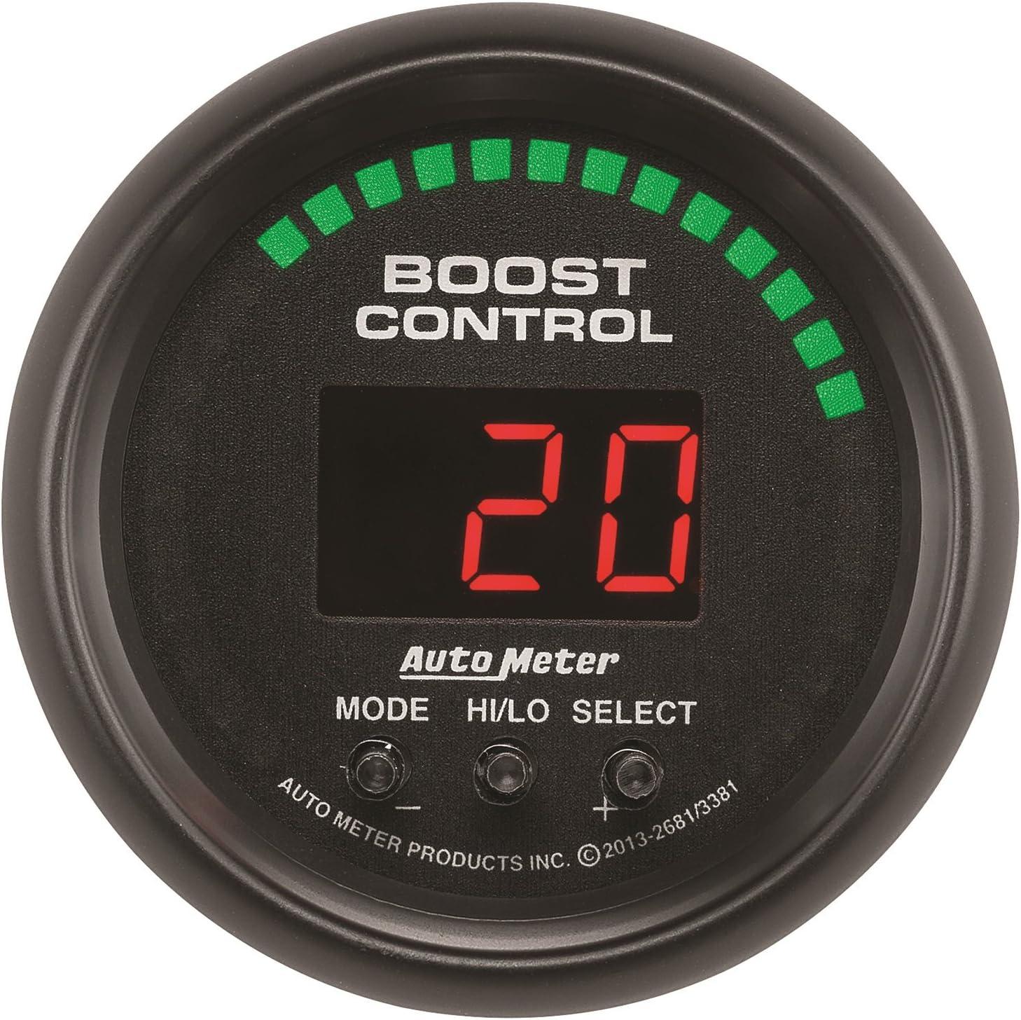 4381 Ultra-Lite//Ultra-Lite II 2-1//16 Boost Control Gauge Auto Meter