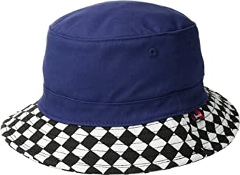 Herschel Supply Co. Kids Lake Youth Medieval Blue/Checkerboard LG/XL