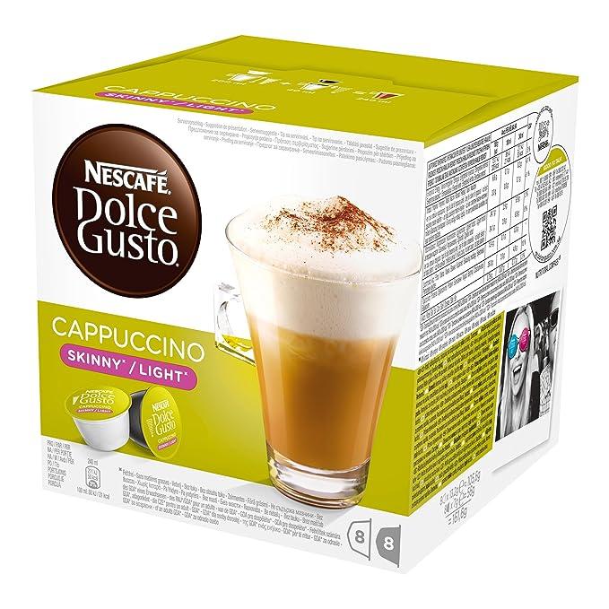 Nescafé Dolce Gusto Cappuccino light, Paquete de 6, 6 x 16 Cápsulas (48 Tazas): Amazon.es: Alimentación y bebidas