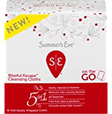 Summer's Eve Cleansing Cloths | Blissful Escape | Individually Wrapped | 16 Count