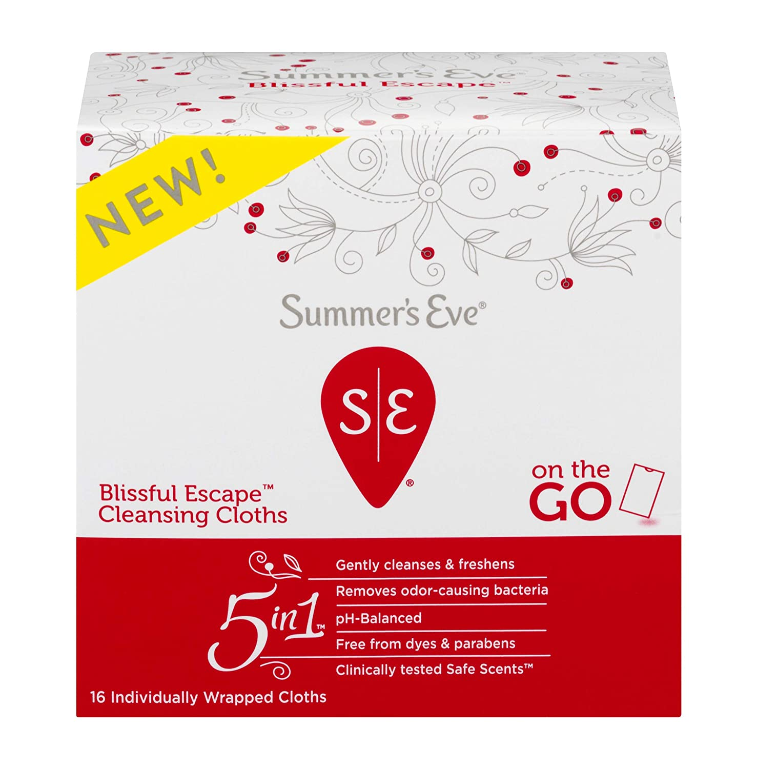 Summer's Eve Summer's Eve Blissful Escape Personal Cloths - 16ea, 16count