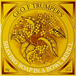 Geo F.Trumper Sandalwood Shaving Soap In a Bowl Refill 80gr.