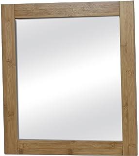 espejo pared de bao muy buena calidad estilo extico en bambu