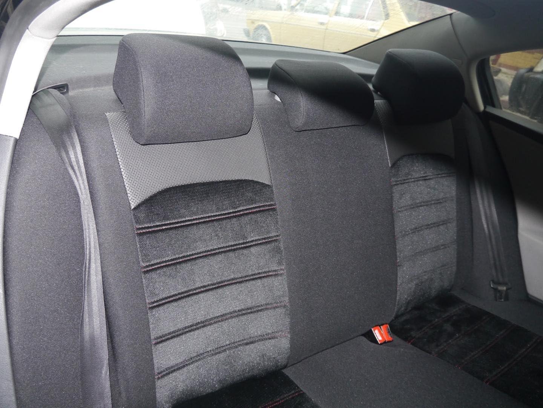 Sitzbezüge K Maniac Für Golf Vi Universal Schwarz Rot Autositzbezüge Set Komplett Autozubehör Innenraum No 4 Kfz Tuning Sitzbezug Sitzschoner Auto