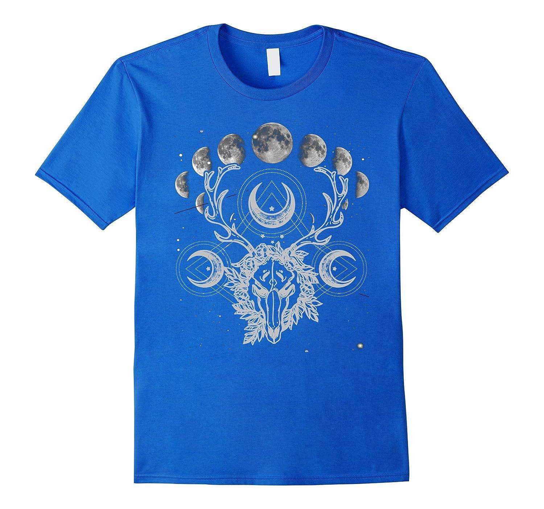 Crystals Moon Gothic Punk Tee-Art