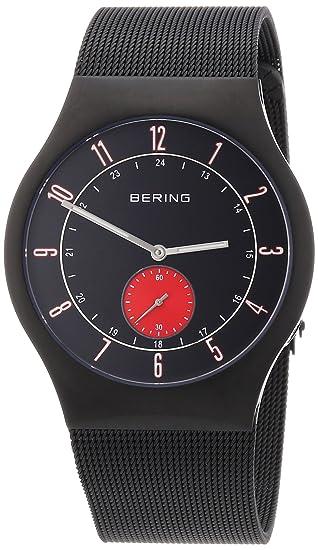 Bering Reloj Analógico para Hombre de Cuarzo con Correa en Acero Inoxidable 51940-229: Amazon.es: Relojes