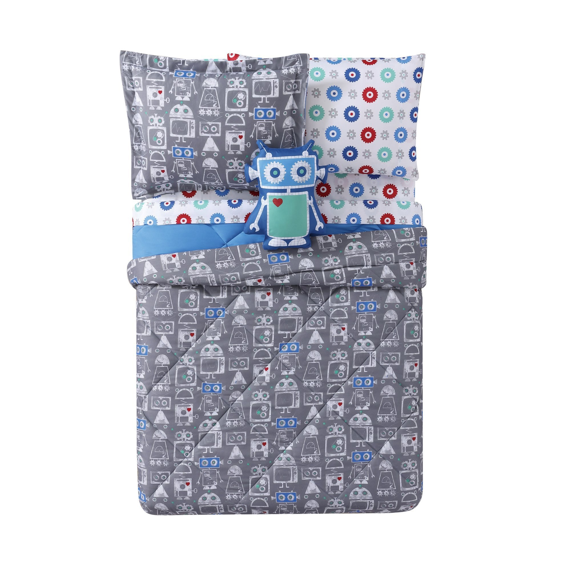 Laura Hart Kids Printed XL 2-Piece Comforter Set, Twin X-Large, Roboto
