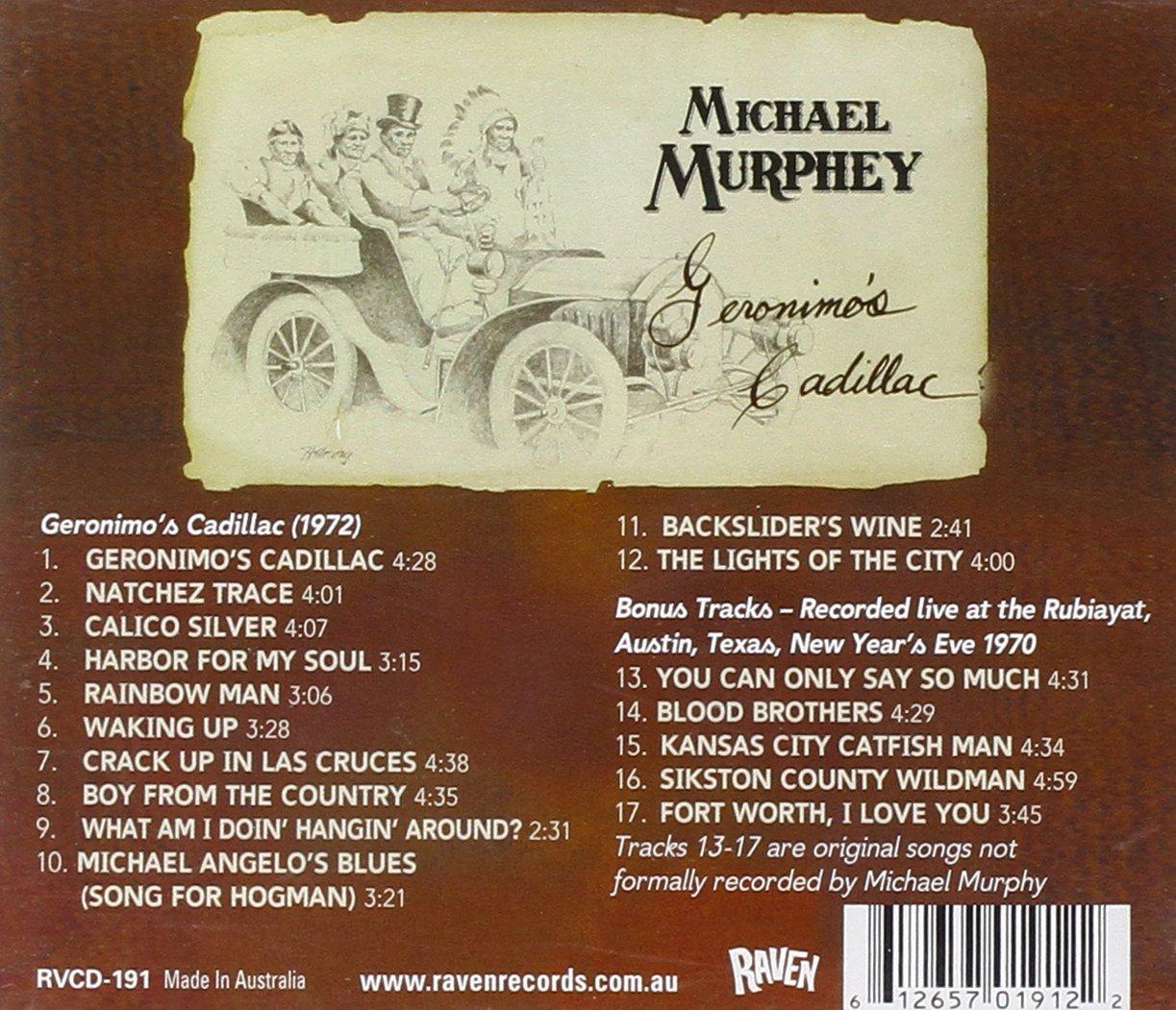 Michael Murphey - Geronimo's Cadillac - Amazon.com Music